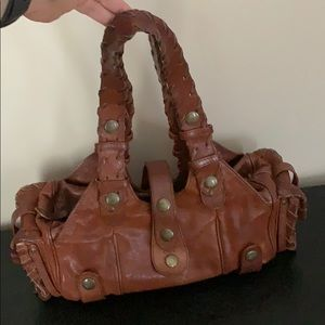 Brown leather Chloe handbag
